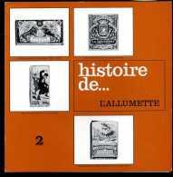 1924-publicite-1487   Histoire De L'allumette  Pub Lyso Hémostyl - Publicidad