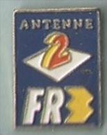 Antenne 2 FR3. Petit Logo - Médias