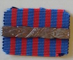 ITALIA - barretta originale per medaglia LIBIA - anno 1934 operazioni di polizia coloniale