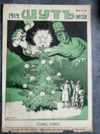 REVUE RUSSE DE 1912 SATYRIQUE  WYTB