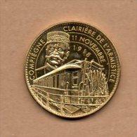 Monnaie Arthus Bertrand : Clairière De L'Armistice, 11 Novembre 1918-2008 Le Poilu - 2008 - Arthus Bertrand