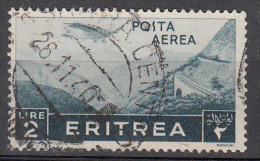 Eritrea     Scott No C13    Used     Year  1936 - Eritrea