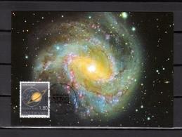 """LIECHTENSTEIN 2004 : Carte Maximum """" ASTRONOMIE """" Parfait état. (MK 232) CM - Raumfahrt"""