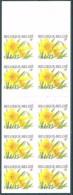 Belgium**NARCISSUS-Flowers- Booklet  10stamps-2001-MNH- NARCIS-Flores-Blumen-Bloem-Fleurs-Fiori - Belgium