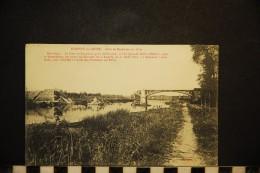 CP, 10, NOGENT Sur SEINE Pont De Bernières En 1870 Vierge - Nogent-sur-Seine