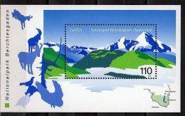 CEPT 1999  Germany / BRD -  Natural Parks -Berchtesgaden  - MS - MI B 47 - Paper - MNH** - Europa-CEPT