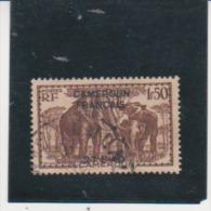 CAMEROUN - N° 271- ELEPHANTS / CAMEROUN FRANCAIS  Used - Cameroun (1915-1959)