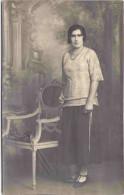 Portrait de femme - Carte-photo