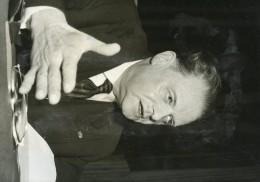 Photo De Presse - POLITIQUE   -  EMILE PELLETIER  Ministre De L'intérieur En 1958 - Personnes Identifiées