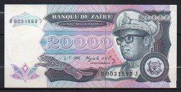Zaire 3 Billets 1991-1993 - Zaïre