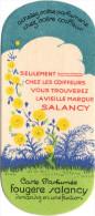 Carte Parfumée Marque SALANCY Fougère - Vintage (until 1960)
