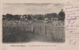 VILLIERS-SUR-MARNE- Val  de  Marne - Vue  g�n�rale  prise  des  c�teaux  de COEUILLY .