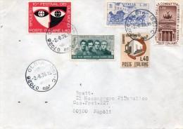 1979 LETTERA CON ANNULLO OLBIA - 1971-80: Storia Postale