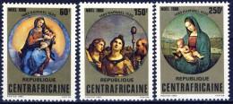 ##K1245. Republique Centafricain 1980. Christmas. Raphael. Paintings. Michel 702-04. MNH(**) - Central African Republic