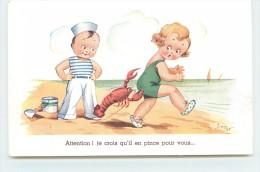LOT DE 10 CARTES HUMORISTIQUES - Illustrée Par Jim Patt. - Cartes Humoristiques