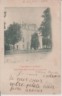 VILLIERS-SUR-MARNE - Val  de  Marne - Le  Chateau . ( Carte  coin  bas  gauche  �corn� )