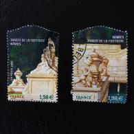France Jardin Des Plantes 2005, Paire Y&T 3786 Et 3787 Oblitéré Superbe - Francia