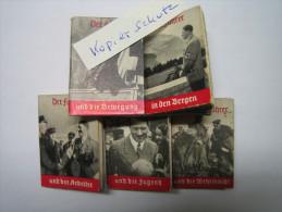 WHW-Reichsstrassensammlung, Der Chef Und..... Tieste 082-86, Komplette Serie! - 1939-45