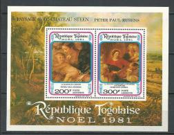 """Togo Bloc YT 159  """" Noël """" 1981 Neuf** - Togo (1960-...)"""