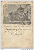 BEAURAING ..-- Ruines Du Château . 1901 Vers HAVRE - VILLE ( Mr Louis FOURNY ) . Voir Verso . - Beauraing