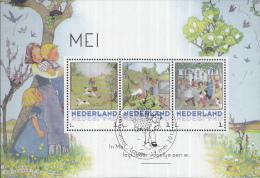 Persoonlijke Postzegels Rie Cramer – Mei Bloeimaand - Speciale Stempel: Laren – 19 Mei 2015 - Netherlands