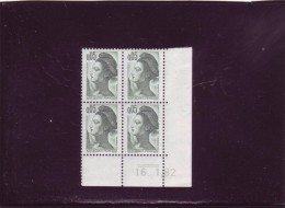 N° 2178 - 0,05F LIBERTE - 2° Tirage Du 14.1 Au 16.1.82 - 16.1.82 (2 Traits) - Papier Blanc Aux UV - - 1980-1989