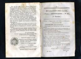1929-bulletin Des Lois-ref-32465   N°  381 Peche Fluviale  Etc..24 Pages  1835-série-9-tome-11 - Décrets & Lois