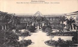 MISSIONS D´AFRIQUE Maison Mères Des Soeurs De N.D D´Afrique Cour Intérieure-Soeurs Missionnaires Alger (RELIGION - Missions