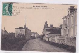 Mouilleron En Pareds Rue Nationale Et La Gendarmerie - Mouilleron En Pareds