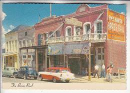 USA ( NV Nevada ) VIRGINIA CITY : The Brass Rail ( Automobiles : Limousines US  En 1er Plan ) CPSM Dentelée Colorisée GF - Etats-Unis