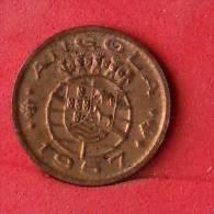 ANGOLA  50  CENTAVOS  1957   KM# 75  -    (Nº09745) - Angola