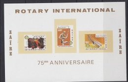 Zaire 1980 Rotary International M/s ** Mnh (21871) - Zaïre