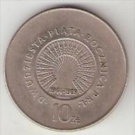 Polen 10 Zloty 1969 Km 61  Xf+ !!!!! - Poland