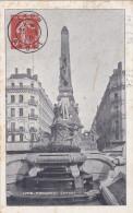 Lyon Monument Carnot - Pseudo-entier Semeuse 1910 - Qq Tâches - Entiers Postaux