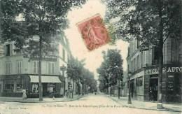 94 PARC St-MAUR  Rue De La République , Prise De La Place De La Gare - Saint Maur Des Fosses