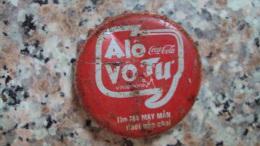 Vietnam Viet nam Coca Cola ALO VO TU used bottle crown cap / kronkorken / chapa / tappi
