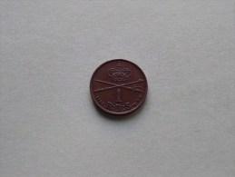 1853 V.S. - 1 Rigsbankskilling R.B.S / KM 756 ( Uncleaned - For Grade, Please See Photo ) ! - Dänemark