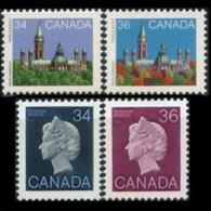 CANADA 1982 - Scott# 925-6B Queen Etc. 34-36c MNH - 1952-.... Reign Of Elizabeth II