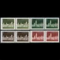CANADA 1987 - Scott# 938-42 Parliament Pair 1-6c MNH - 1952-.... Reign Of Elizabeth II