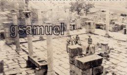 Afrique - Algérie - Villes - Autres Villes – Photographie Originale - Algérie - Djemila – Militaires. - (voi - Photographs