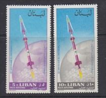 Liban 1984 Space 2v ** Mnh (21873B) - Space