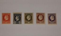 Collection De 5 Timbres Préoblitérés Neufs Avec Charnieres Du Montenegro ... Lot 792 . - Montenegro
