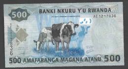 RWANDA  : 500 Francs  - 2013 - UNC - Rwanda
