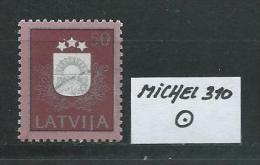 LETTLAND MICHEL 310 Gestempelt Siehe Scan - Lettonie
