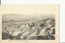 90 Belfort  Vue Generale Prise Du Chateau - Belfort - City