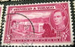 Trinidad And Tobago 1938 General Post Office And Treasury 5c - Used - Trinidad & Tobago (...-1961)