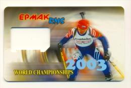 Russia Khanty-Mansyisk  Ermak RMS GSM Used Biathlon 2003 - Russia