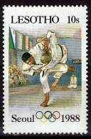 LESOTHO    N° 741 * *     Jo 1988  Judo - Judo