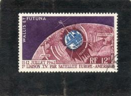 WALLIS Et FUTUNA : Télécommunications Spatiales - Satellite - Espace - - Used Stamps