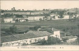 CUBZAC LES PONTS  - 33 -  Vue Générale Et Les Caves - GG - - Cubzac-les-Ponts